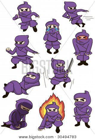 a set of ninja