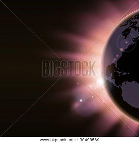 Sunrise Concept Background