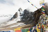 Renjo La Pass Trekking,one Of The Best Famous Nepal High Passes Trekking Is Beautiful Adventurous T poster