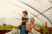 Family Agriculture. Family Agriculture Cultivation. Family Agriculture Concept. Family Agriculture I poster
