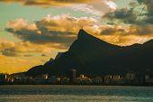 Rio De Janeiro, Brazil: The Famous Rio De Janeiro Landmark - Christ The Redeemer Statue On Corcovado poster