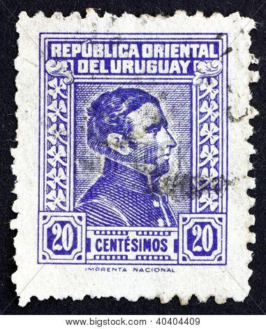 Postage stamp Uruguay 1944 Artigas, General and Patriot