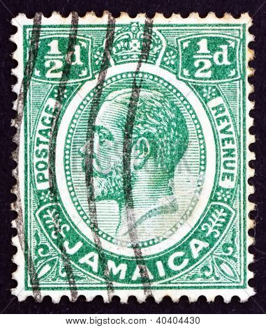 Postage stamp Costa Rica 1927 King George V