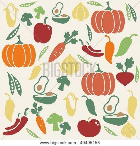 Patrón de vegetal