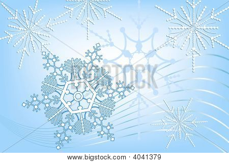 Snowflakes Abstract