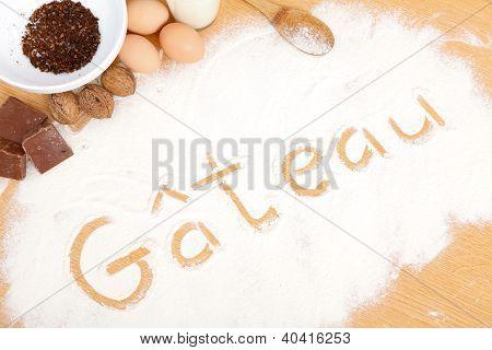 Written In Flour - Gateau