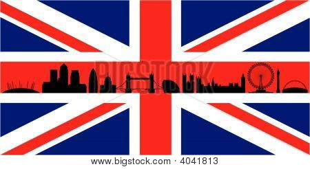 London And The British Flag