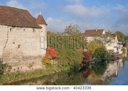 Village of Chablis,Burgundy,France