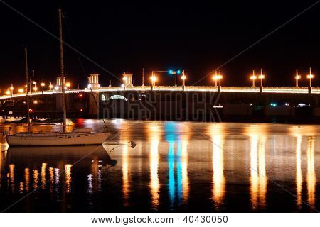 Bridge of lions Saint Augustine
