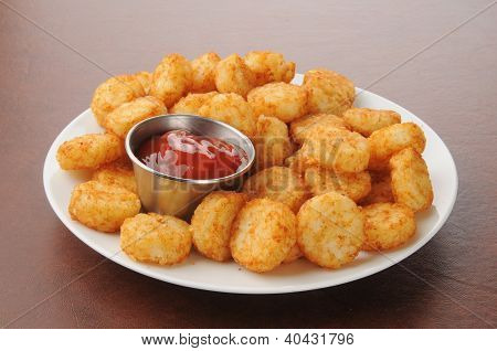 Hash Browns And Catsup