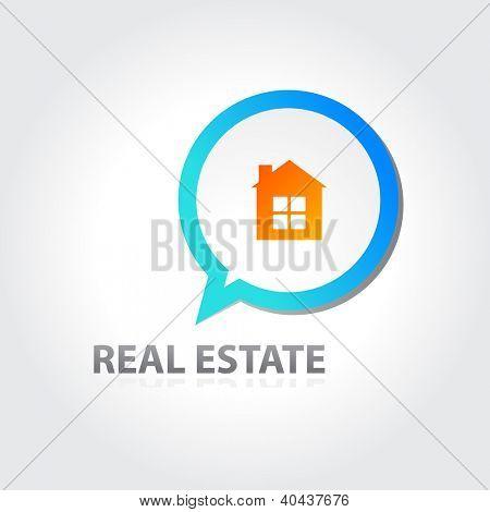 Inmobiliaria signo - vector eps 10