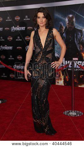 LOS ANGELES - APR 11:  Cobie Smulders