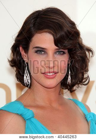 LOS ANGELES - AUG 11:  COBIE SMULDERS arriving to Emmy Awards 2011  on August 11, 2012 in Los Angeles, CA