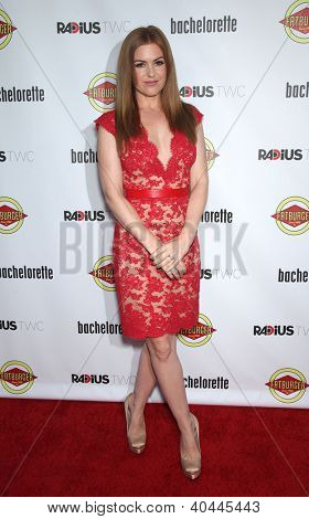 """LOS ANGELES - AUG 23:  Isla Fisher """"Bachelorette"""" Los Angeles Premiere  on August 23, 2012 in Hollywood, CA"""