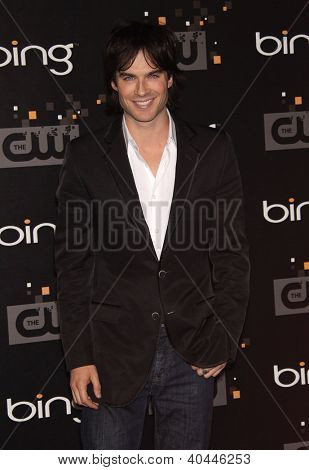 LOS ANGELES - AUG 10:  IAN SOMERHALDER arriving to CW Premiere Party  on August 10, 2011 in Burbank, CA