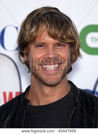 LOS ANGELES - AUG 03: ERIC CHRISTIAN OLSEN TCA Sommer Party 2011 - CBS / SHOWTIME / CW auf August
