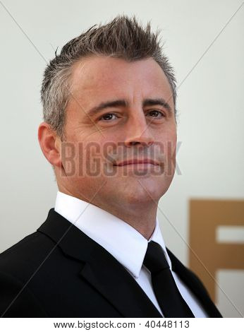 LOS ANGELES - AUG 11:  MATT LeBLANC arriving to Emmy Awards 2011  on August 11, 2012 in Los Angeles, CA