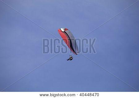 CALDELAS, PORTUGAL - OCTOBER 13: Paragliding Aboua Cup, in the north of Portugal, October 13, 2012 in Caldelas, Portugal.