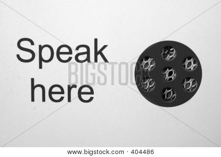 Speak Here