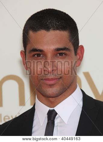 LOS ANGELES - AUG 11:  WILMER VALDERRAMA arriving to Emmy Awards 2011  on August 11, 2012 in Los Angeles, CA