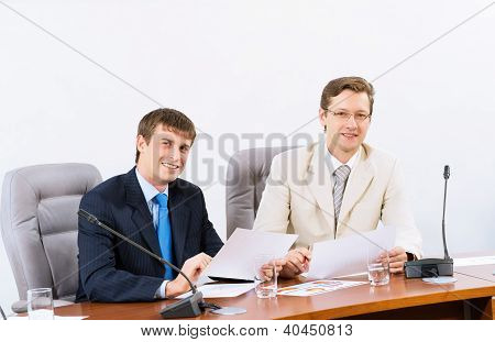 Two businessmen