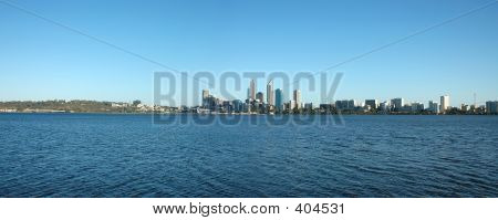 poster of Perth City Skyline