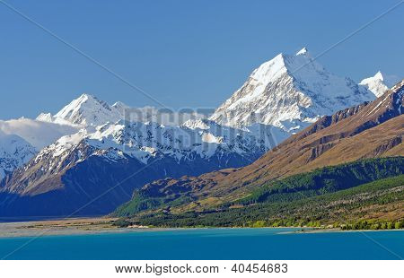 High Peaks In The Southern Alps