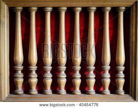Old Wood Furniture Decoration