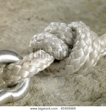 Snap Hook And Knot Detail