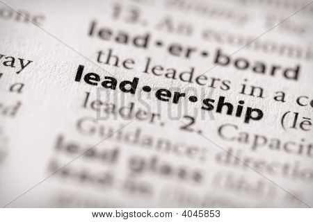 Dictionary Series - Attributes: Leadership