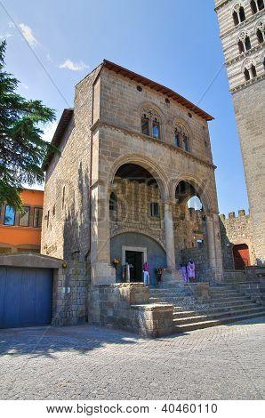 House of Valentino della Pagnotta. Viterbo. Lazio. Italy.