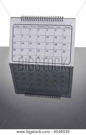 Calendar With Reflection