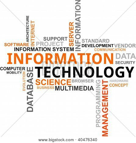 Word Cloud - Information Tech...