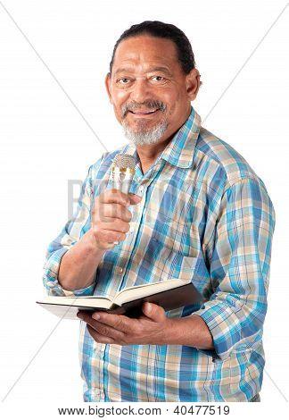 Happy Senior Preacher