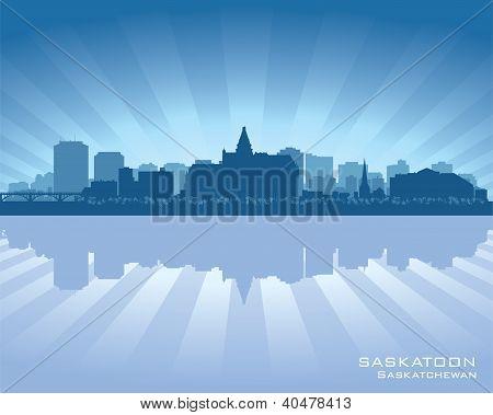 Skyline de Saskatoon, Canadá