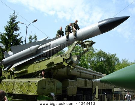 Old Military Missile