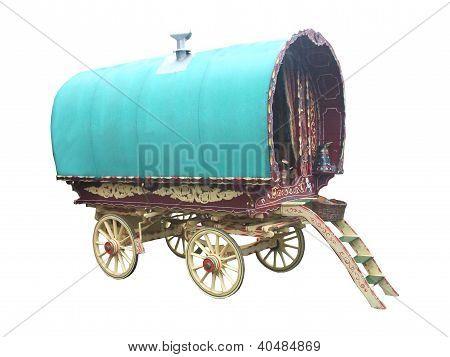 Horse Drawn Caravan.