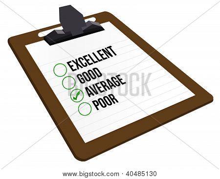 Average Customer Rating