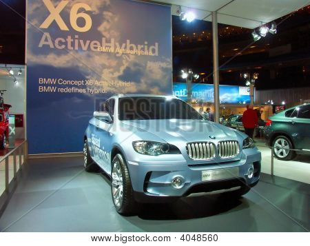 BMW X 6 Active Hybrid Concept Car