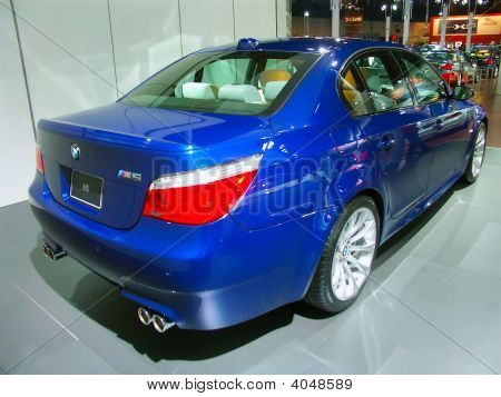 Bmw M5 On Display