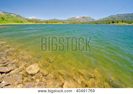 Lake Electra in the San Juan Mountains in Colorado