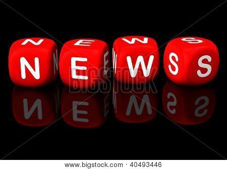 News Red Cubes