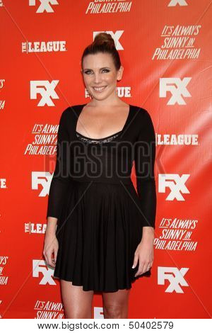 LOS ANGELES - SEP 3:  June Diane Raphael at the FXX Network Launch Party And Premieres For