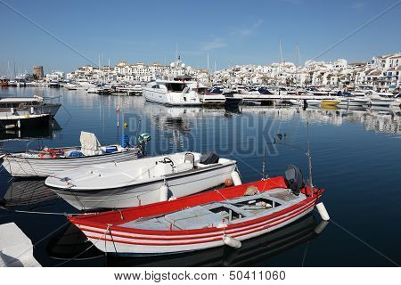 Boats And Yachts In Puerto Banus