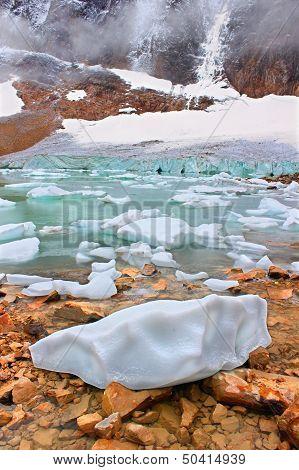 Angel Glacier Jasper National Park