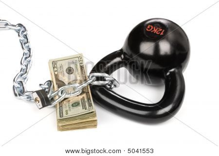 Cash Secured By Ball And Chain