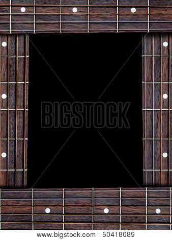 Guitar Music Frame