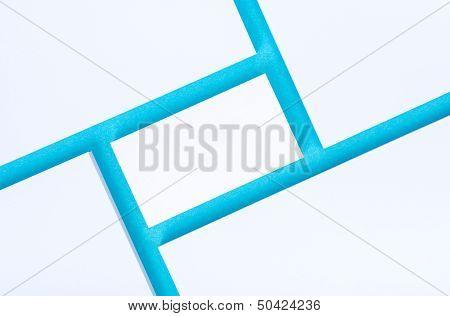 Empty Business Card Presentation