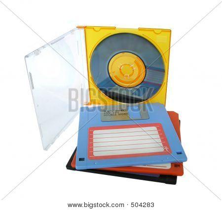 Cd Diskettes Data Storage
