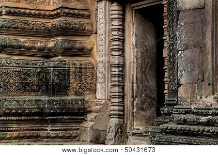 gate of sandstone  Castle Phanom Rung